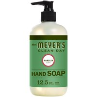 Mrs. Meyer's Clean Day Liquid Hand Soap, Parsley Scent, 12.5 ounce bottle