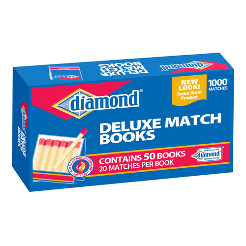 Diamond 32ct Strike on Box Matches, 10pk