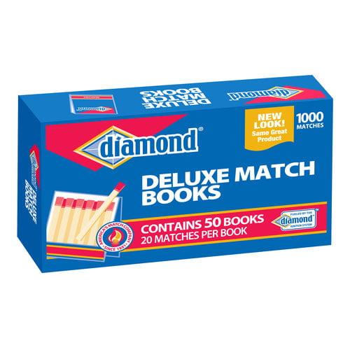 Diamond 32ct Strike on Box Matches, 10pk