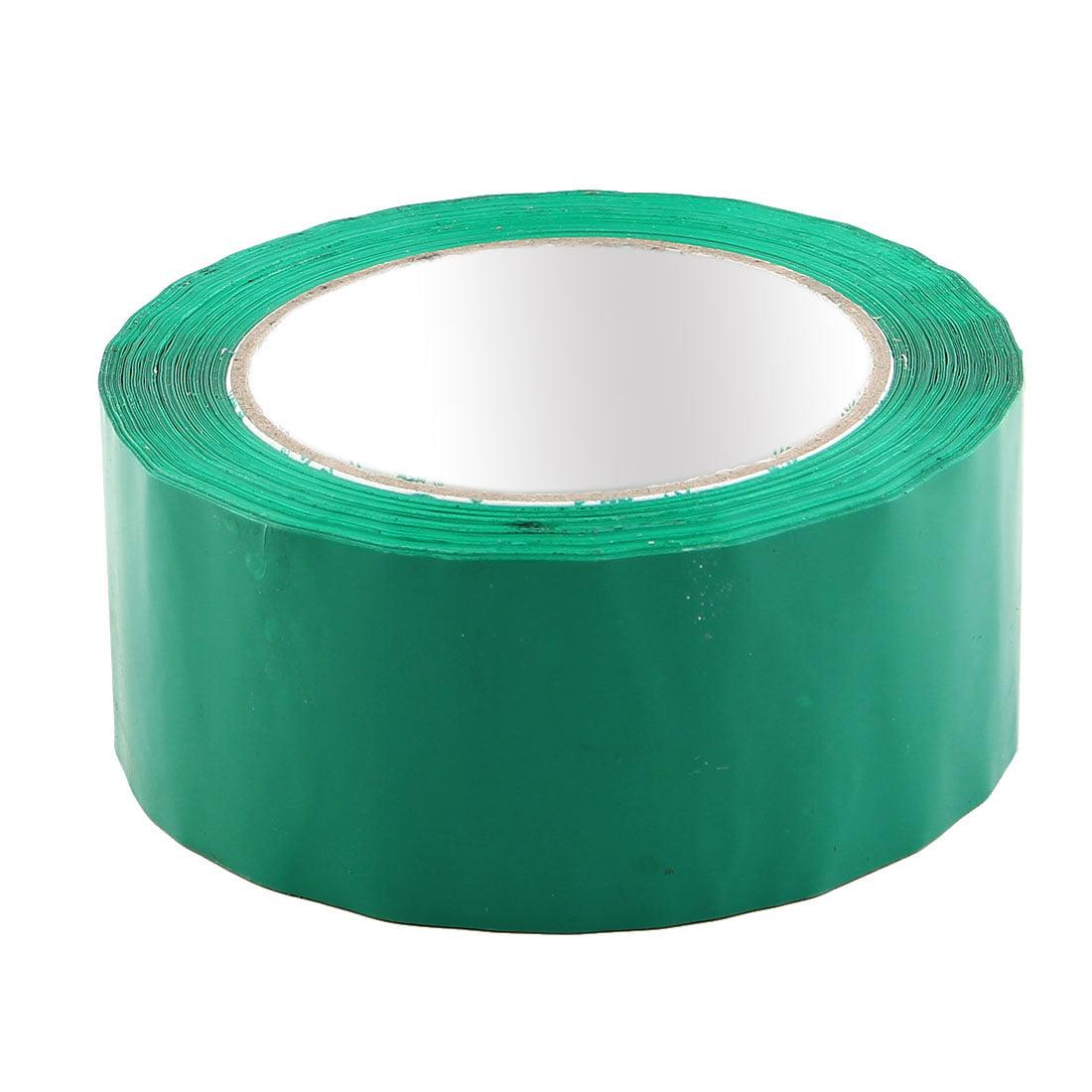 Shipping PVC Box Sealing Adhesive Tape Dark Green 1.9'' x 98.4 Yards(295.3 Ft)