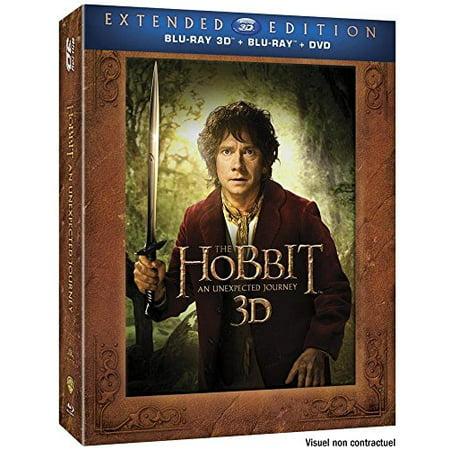 The Hobbit: An Unexpected Journey - 7-Disc Box Set (3D & 2D) (+ Digital Copy) (Blu-Ray & DVD Combo) (+ UV Copy) [ Blu-Ray, Reg.A/B/C Import - France