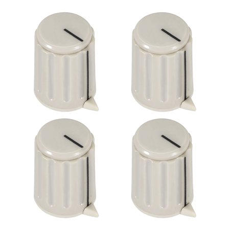 4pcs 6mm potentiometer control knobs for electric guitar volume tone knobs gray. Black Bedroom Furniture Sets. Home Design Ideas