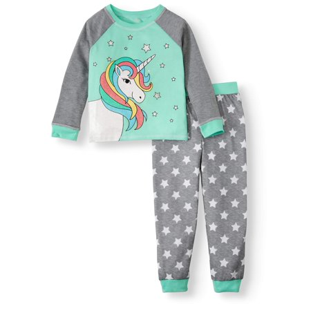 Glow In The Dark Girls Pajamas (Dream Life Girl's 2-Piece Pajama Sweatshirt & Jogger Set (Little Girls & Big)