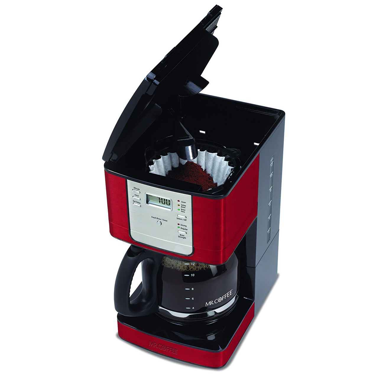 Mr. Coffee Advanced Brew 12-Cup Auto-Pause Programmable Coffee Maker ...