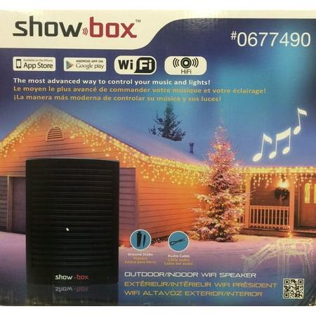 - ShowBox Light Controller WiFi Speaker Indoor/Outdoor - Walmart.com
