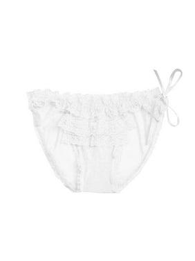 61ab320d48 Product Image Women Sexy Transparent Lace Panties Low-waist Bandage Thong  Underwear Bandage Briefs