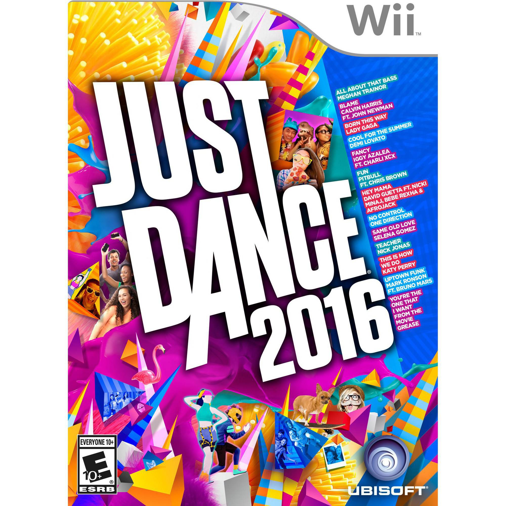 Just Dance 2016, Ubisoft, Nintendo Wii, 887256013998