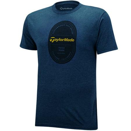 Taylormade Carlsbad Golf T-Shirt Navy S Taylormade Boat Tops
