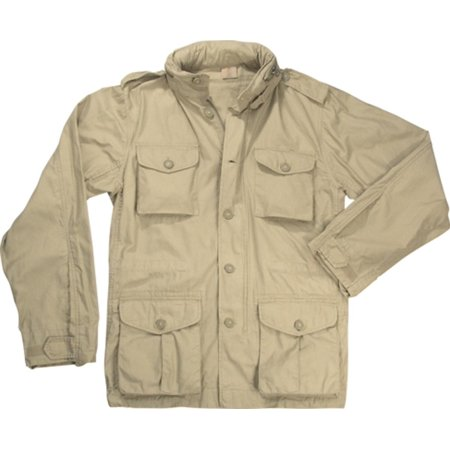 Lightweight Vintage M-65 Field Jackets, Tan, 2XL