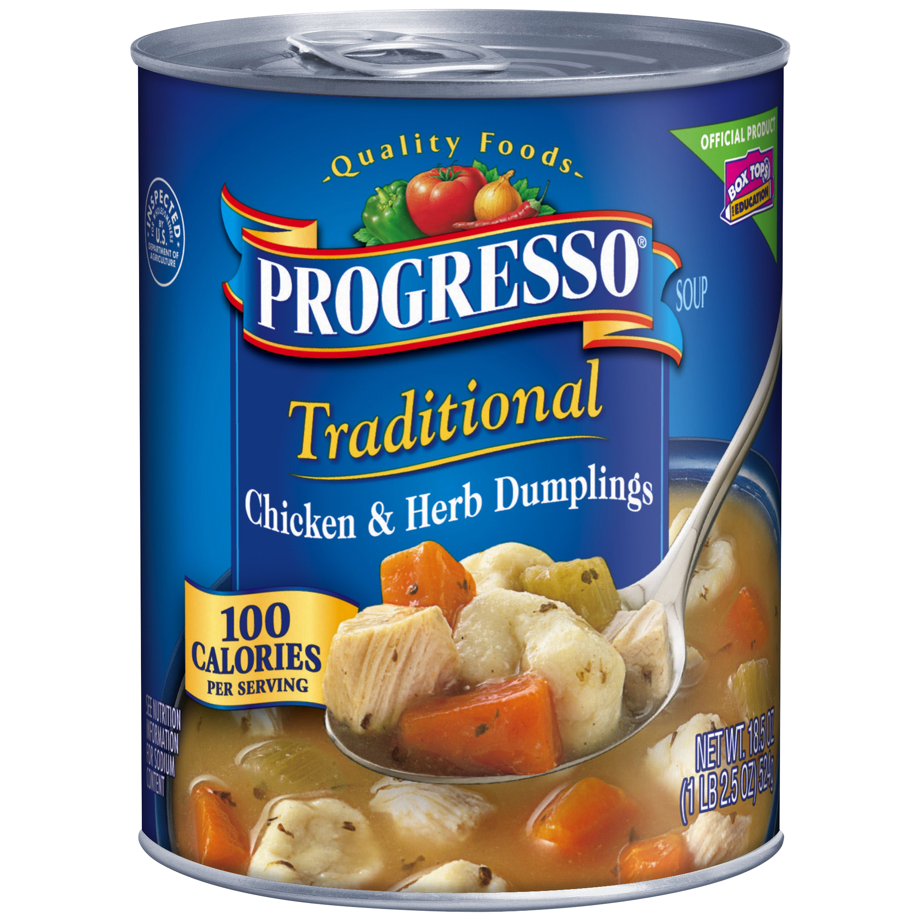 Progresso�� Traditional Chicken & Herb Dumplings Soup 18.5 oz. Can
