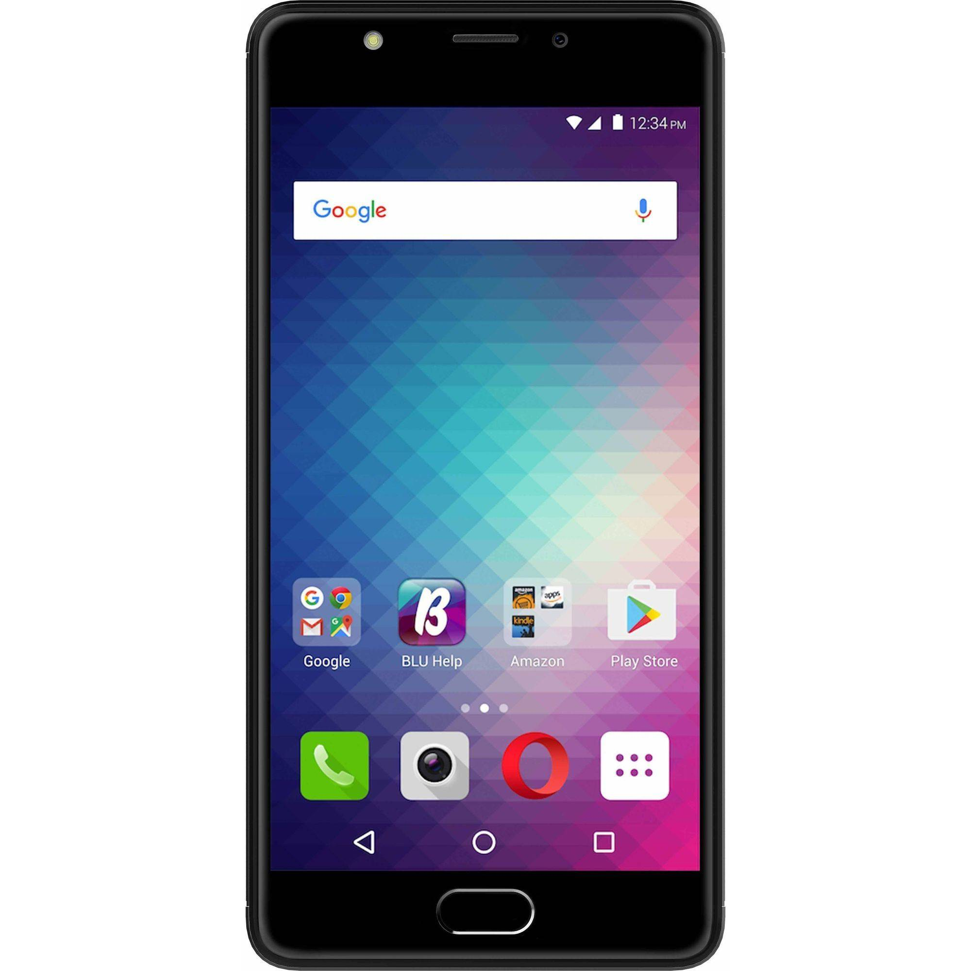 BLU Life One X2 L0091UU 64GB GSM 4G LTE Octa-Core Smartphone with 16MP Camera (Unlocked), Gray