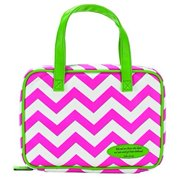 Bible Cover - Pink and Green Chevron - Thinline