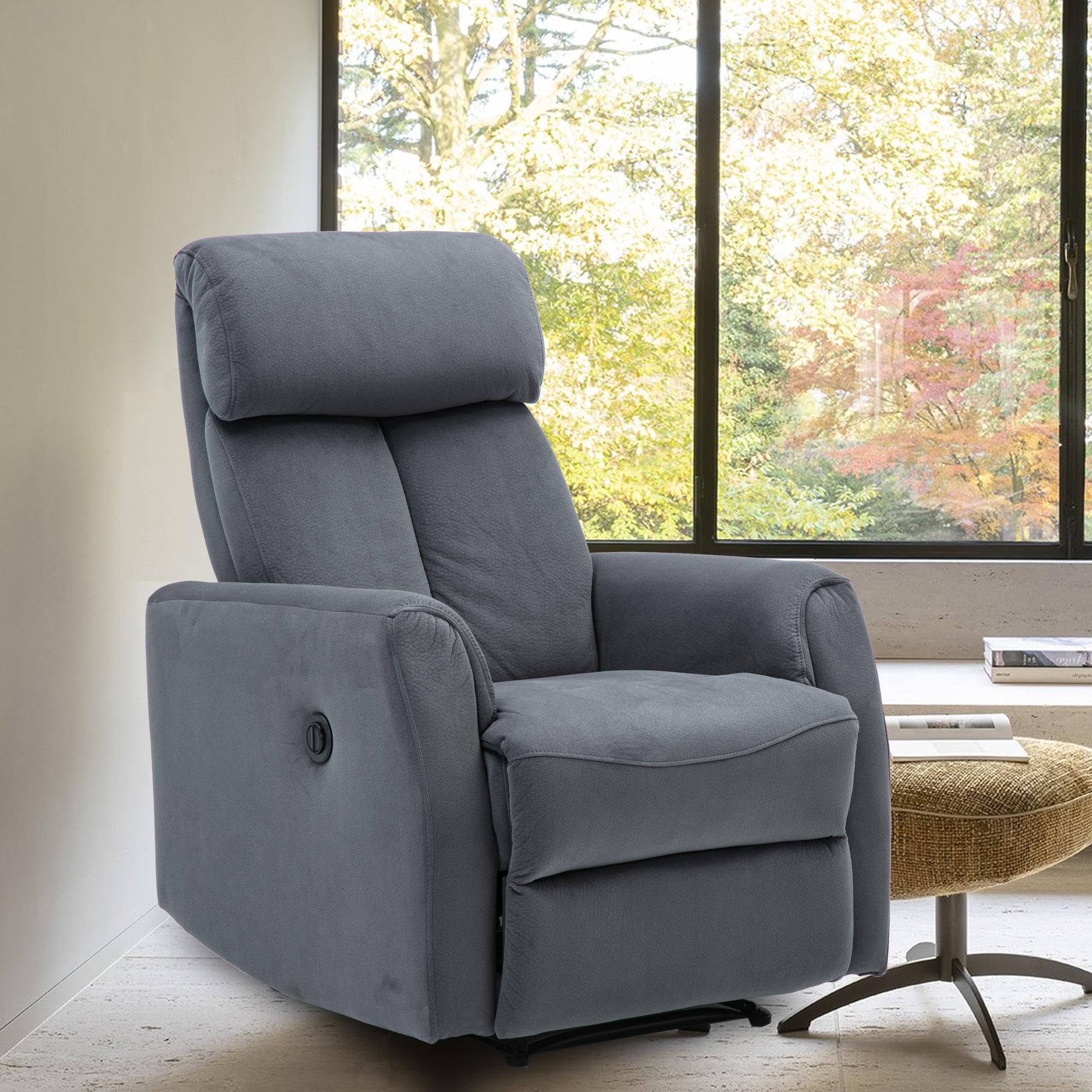 power recliner chair vevelt fabric electric recliner