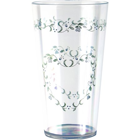 Corelle Coordinates Country Cottage - 19oz Acrylic Iced-tea Glass Set of 6