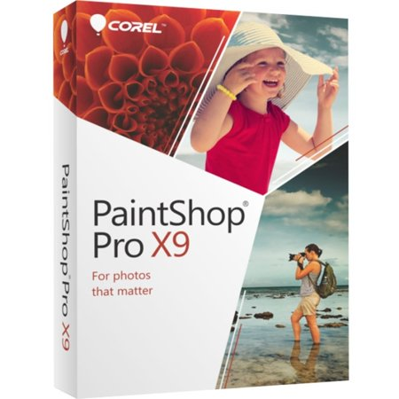 Corel PaintShop Pro X9 for Windows (Windows Video Editing Software)