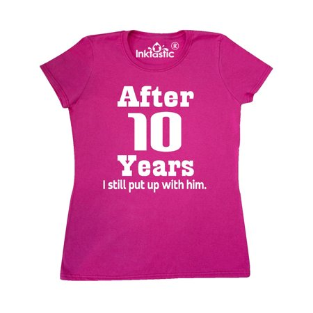 10th Wedding Anniversary Wife Gift Women's