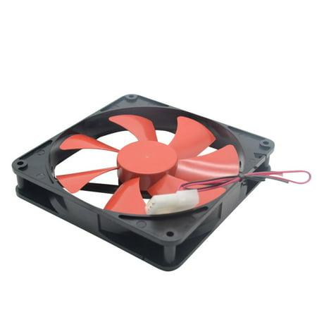 Tinymills Silent Quiet 140mm PC Case Cooling Fans 14cm DC 12V 4D Plug Computer Cooler (Be Quiet Silent Wings 2 Pwm 140mm)