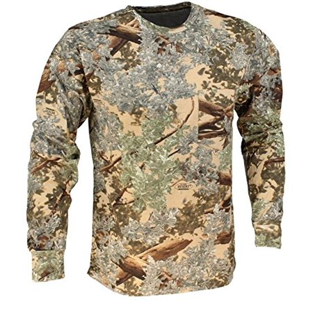 King's Camo Classic Cotton Long Sleeve Shirt Desert