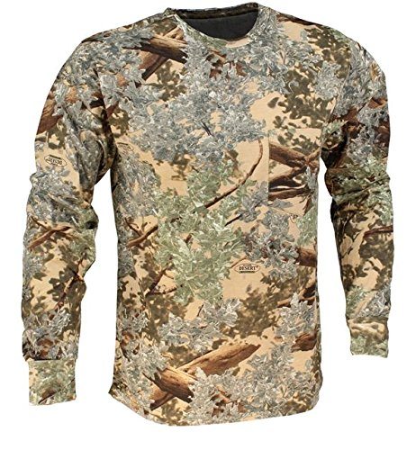 King's Camo Classic Cotton Long Sleeve Shirt Desert Shadow