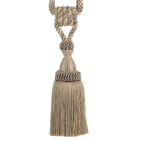 825 Single Light (Trimland 3390-10-8840 8.25 in. Single Tassel Tie Back, Light Gold &)