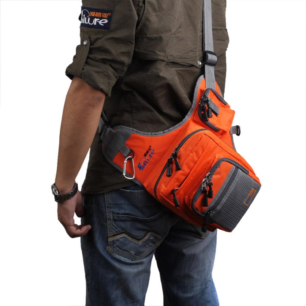 Large Capacity Multipurpose Waterproof Fishing Tackle Bag Storage Fishing Gear Bag by