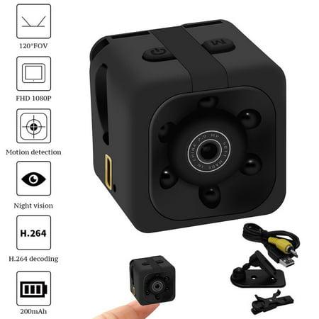 SQ11 Black Mini Camera 1080P Sport Mini Camcorders Infrared Night Vision Cameras Car DV Digital Video Recorder with Original Box