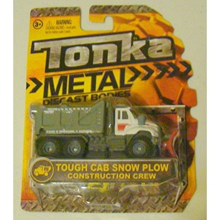 Tonka Metal Diecast Bodies - 4-inch Tough Cab Snow Plow