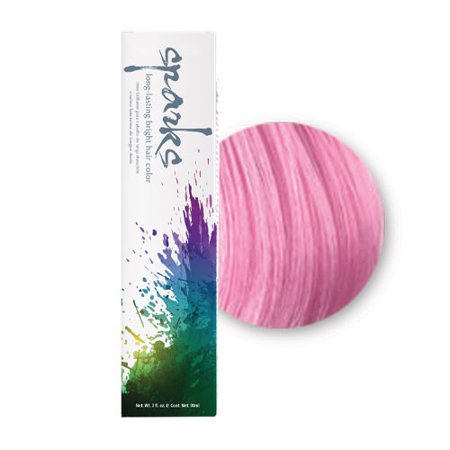 Sparks Long Lasting Bright Hair Color in Pink Kiss, 3