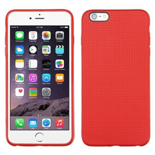 "Insten Dots TPU Case For iPhone 6 Plus / 6S Plus 5.5"" - Red"