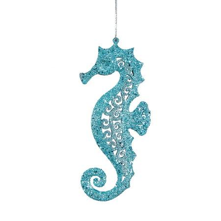 pierced seahorse christmas ornament - Seahorse Christmas Ornament