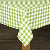 """Conventry Black Buffalo Check 100% Cotton Tablecloth 52""""X52"""""""