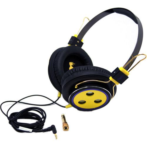 Sakar Baseline Headphones, Green