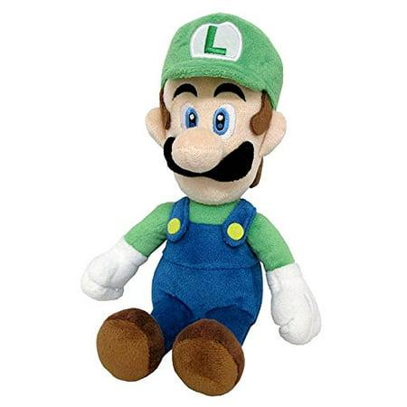 - Little Buddy Super Mario All Star Collection Luigi Stuffed Plush, 24