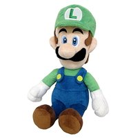 "Little Buddy LLC, Super Mario All Star Collection: Luigi 10"" Plush"
