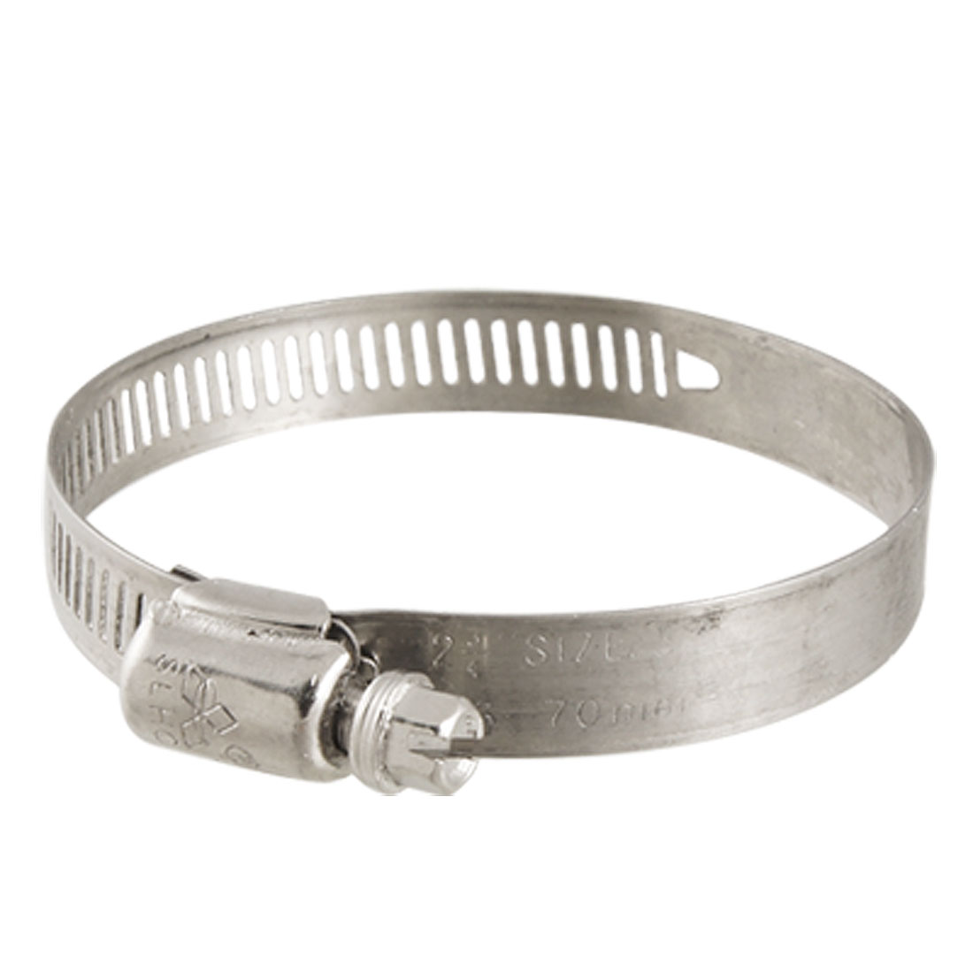 68104 GRAINGER APPROVED Hose Clamp,5 to 7 In,SAE 104,SS,PK10