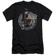 Xena Warrior Princess The Warrior Mens Slim Fit Shirt