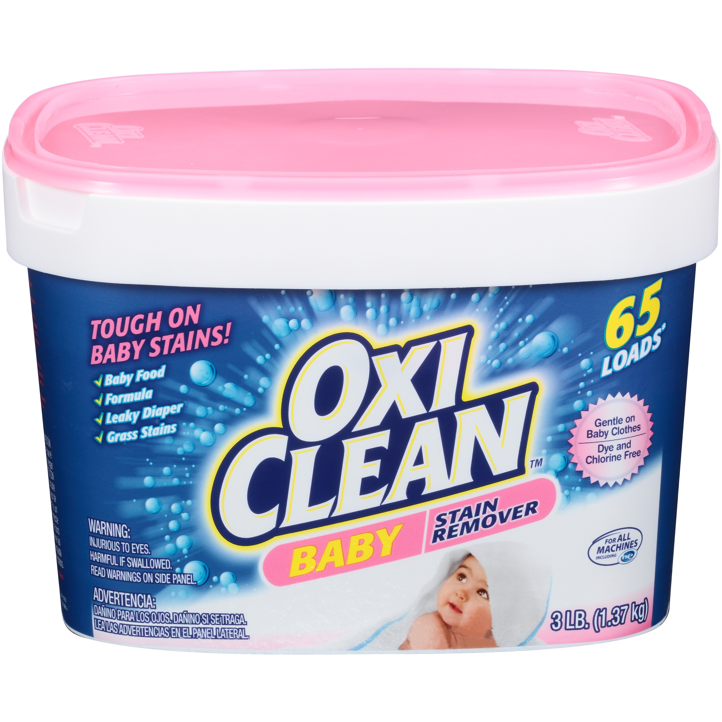 OxiClean Baby Stain Remover 48 Oz Walmart