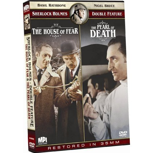 Sherlock Holmes Double Feature: The House Of Fear / The Pearl Of Death