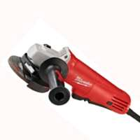 Milwaukee 6140-30 Small Corded Angle Grinder, 120 VAC, 7.5 A, 825 W, 10000 rpm, 4-1/2 in Wheel