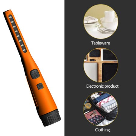 Peroptimist Hand-held UV Disinfection Lamp,  Sterilization Lamp for Household Vehicles, Portable UV Germicidal, UV Sterilization and Mite Removal ORANGE