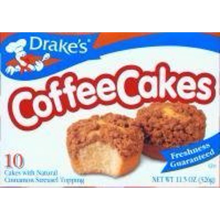 Drake's Cakes Coffee Cake 2 boxes by