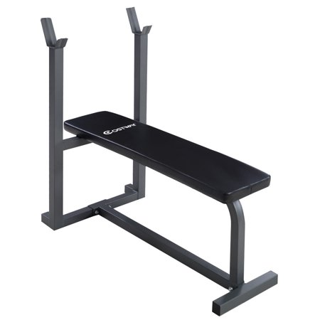 Costway Weight Lifting Flat Bench Fitness Workout Sit Up