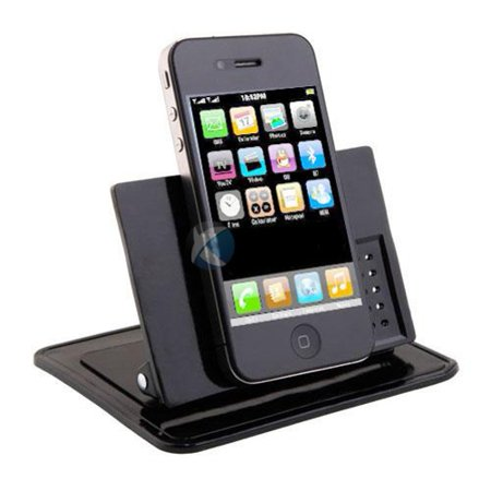 Car Non-Slip Dash-board Holder Stand Mount Desktop Phone Dock Cradle Black  Q4X Compatible With ZTE Imperial Max, Blade Spark Max View, Duo LTE, 3 2S,