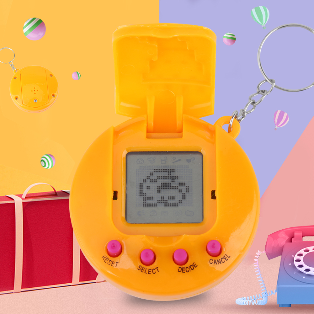 EECOO Electronic Virtual Pet,Children Baby Electronic Toys Nostalgic Virtual Digital Pet Retro Handheld Game Machine Hot Digital Pet