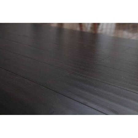 Maple Hard Hardwood Flooring (12mm AC3 Castle Collection Laminate Flooring - Dark Maple, 13.27 sqft. per)