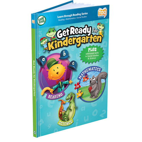LeapFrog LeapReader Book: Get Ready for Kindergarten (works with Tag)