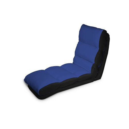Turbo convertible chaise lounger in blue for Chaise convertible