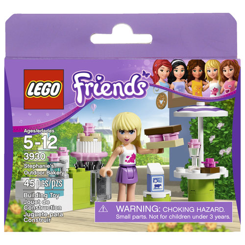 LEGO Friends Stephanie's Outdoor Bakery Set #3930