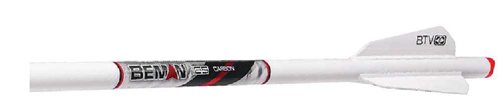 """Easton White Out Crossbow Bolt 20"""" 3"""" Btv Vanes Moon Nocks & Inserts by EASTON TECHNICAL PRODUCTS"""