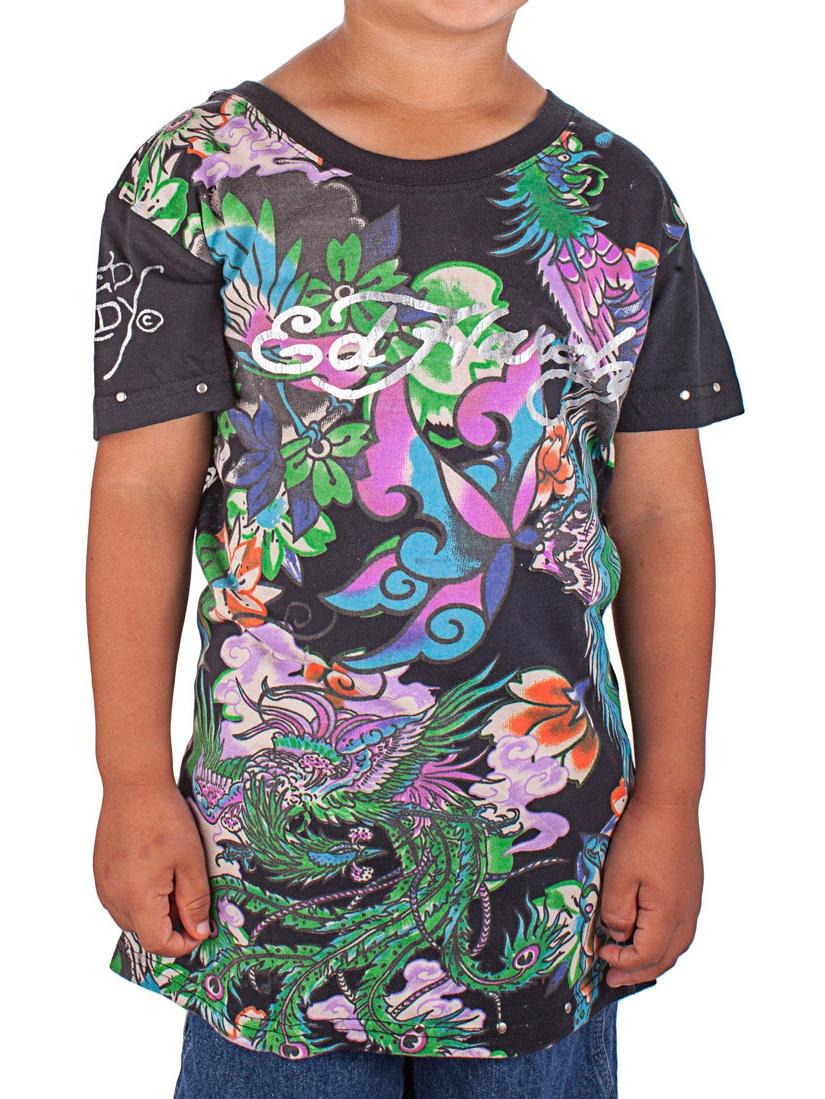 Ed Hardy Kids Girls Koi T-Shirt